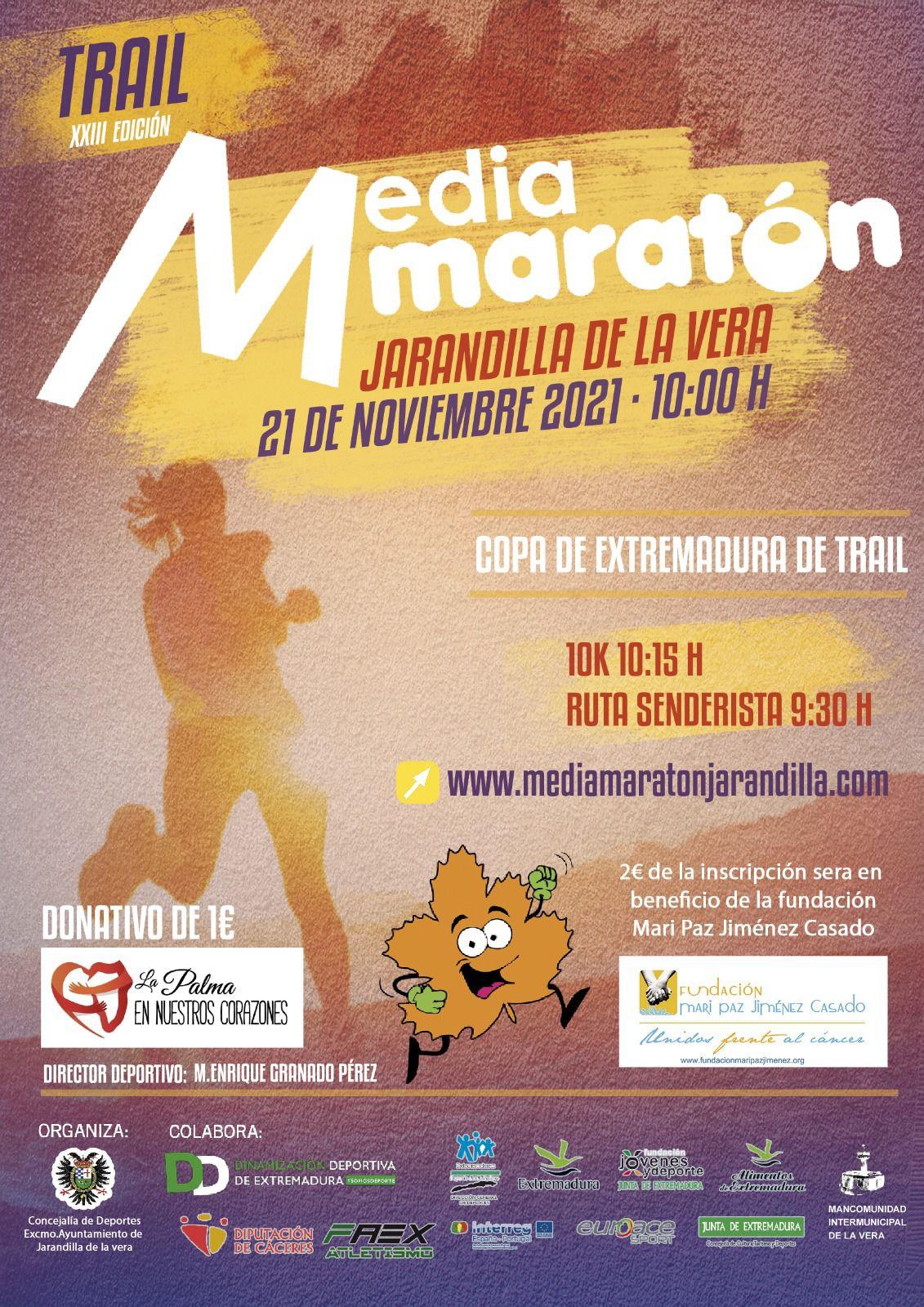 Media Maraton Jarandilla 2021